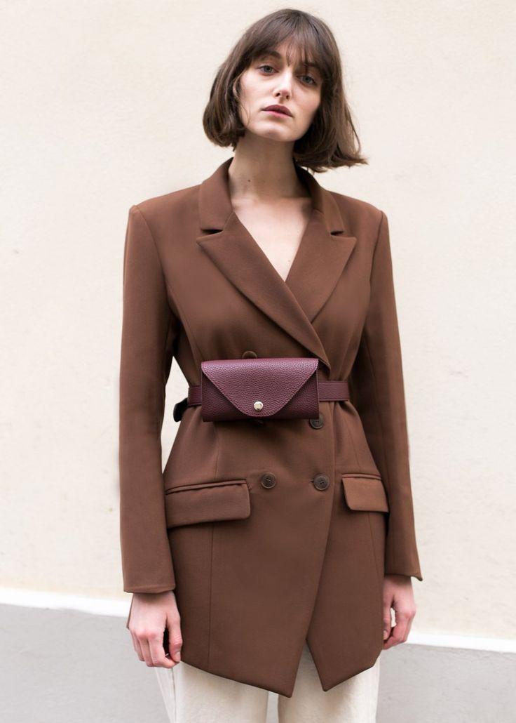 Burgundy Purse Belt – The Frankie Shop