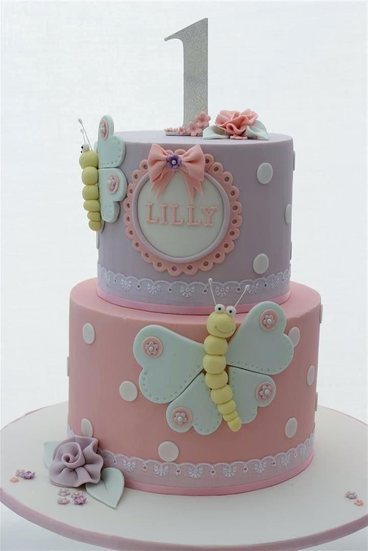 Birthday Cake For 1 Year Old Baby Girl Babys First Birthday Cake