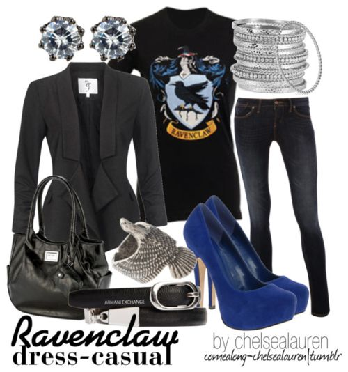 Ravenclaw - Dress Casual |Harry Potter-Click here!