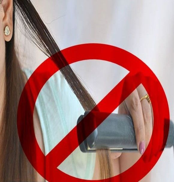 how to make hair straight naturally without straightener