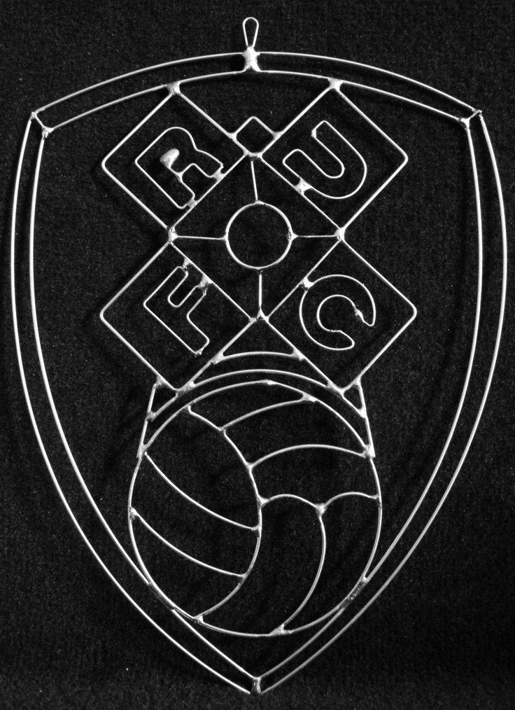 Customised football club hanger