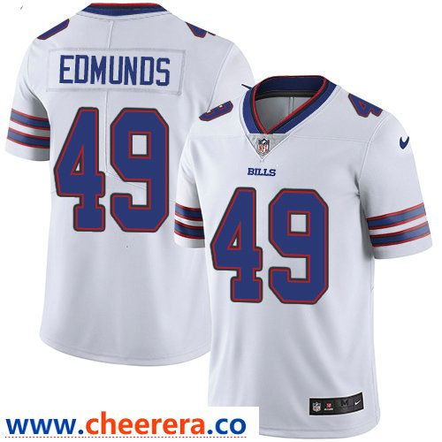 Nike Buffalo Bills  49 Tremaine Edmunds White Men s Stitched NFL Vapor  Untouchable Limited Jersey 31686f2f6