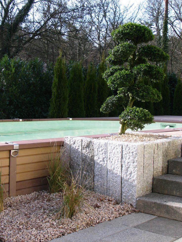 Die Verkleidung der AZTECK-#Pools aus Holz-Polymer-Verbund ist so ästhetisch, warm und rutschhemmend wie #Holz, aber gleichzeitig beständig gegen alle Arten von Umwelteinflüssen.