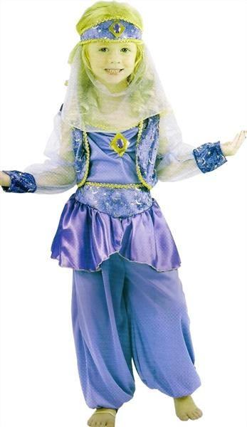 Украшение восточного карнавального костюма жасмин