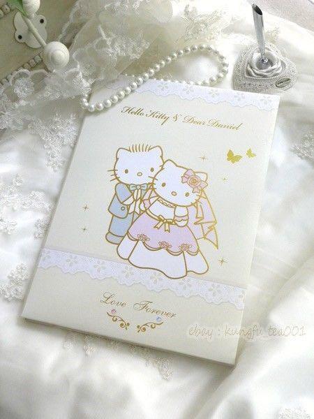 Hello Kitty Wedding Guest Book | 1000x1000.jpg