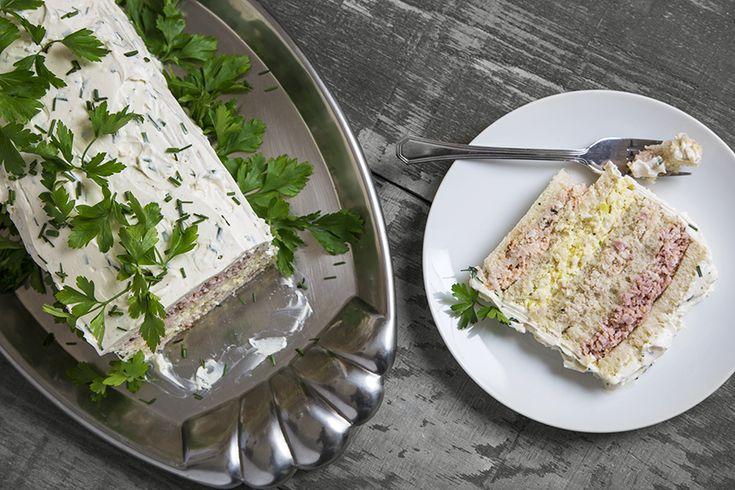 Pain sandwich aux charcuteries #recettesduqc #buffet #noel