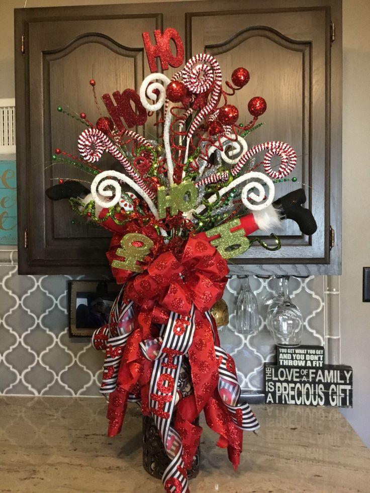 A personal favorite from my Etsy shop https://www.etsy.com/listing/493380869/elf-leg-xmas-tree-topper-christmas-tree