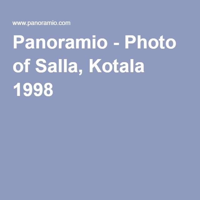 Panoramio - Photo of Salla, Kotala 1998