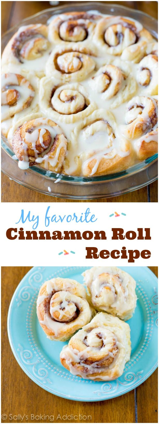 These fluffy, gooey cinnamon rolls are the best! They only require 1 rise and are perfect for beginners.