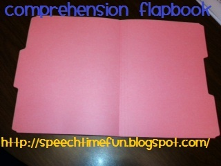 Comprehension Flapbook- great comprehension activity for reading or listening. From Speech Time Fun. Pinned by  SOS Inc. Resources.  Follow all our boards at http://pinterest.com/sostherapy  for therapy   resources.Speech Time, Graphic Organizers, Speech Therapy, Esl Comprehension, Graphics Organic, Comprehension Flapbook, Comprehension Activities, Time Fun, Therapy Resources