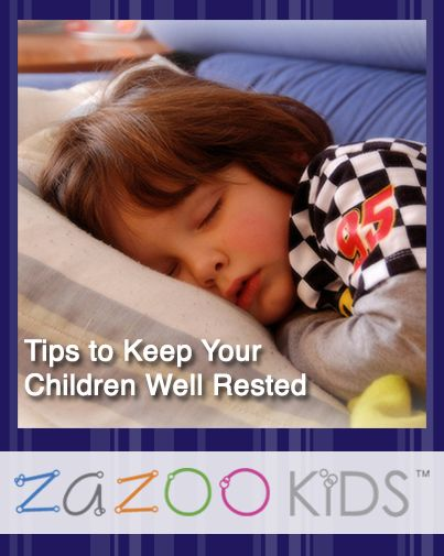 Be well rested for the week by using these simple tips to improve you and your child's sleep: http://abt.cm/1hIdirk
