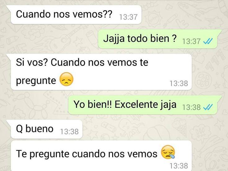 Recopilación de 4las conversaciones más graciosas en WhatsApp - Taringa!