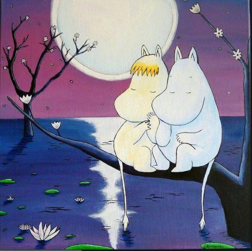 Moomins by Moonlight