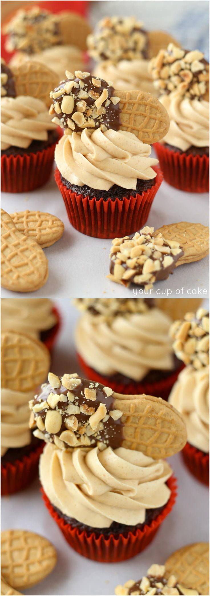 1000 Ideas About Spice Cupcakes On Pinterest Pumpkin Spice Cupcakes - Chocolate nutter butter cupcakes
