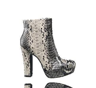 Enkellaars met print - Laarzen - Schoenen - Dames - vanHaren Schoenen