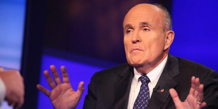 Rudy Giuliani Accuses Obama, Black Leaders Of Stoking 'Anti-Police Hatred'