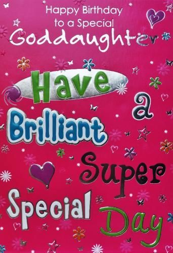 Birthday Quotes For Goddaughter Birthday Messages Pinterest