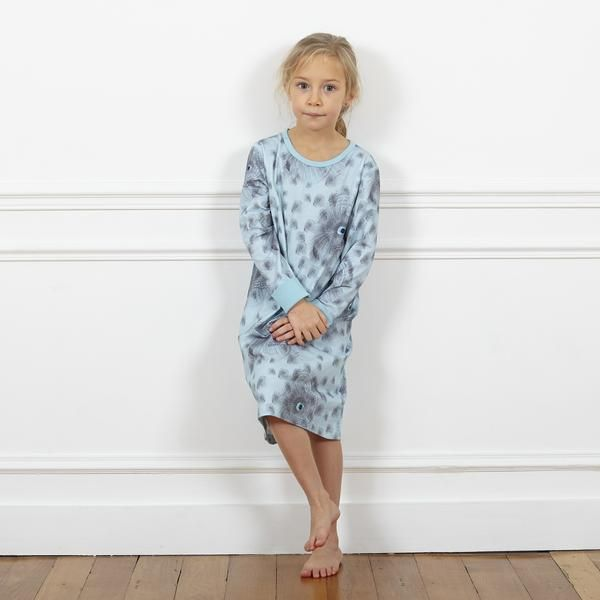 For all those Night Owl's, our big eyed owl print Nightdress in super soft, GOTS certified combed organic Pima cotton.  Room to grow with foldable cuffs Printed neck label means no itching Stretch waistband for extra comfort Low crotch style for added stretch Super smooth flat-lock seams Combed and pre-washed 97% organic pima cotton, 3% elastane GOTS certified license number CERES-0130 Certified