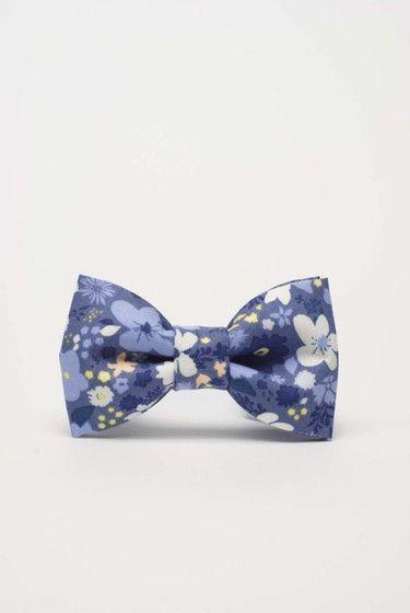 Niebieska muszka dla chłopca - urodziny, święta - więcej na Style To Go
