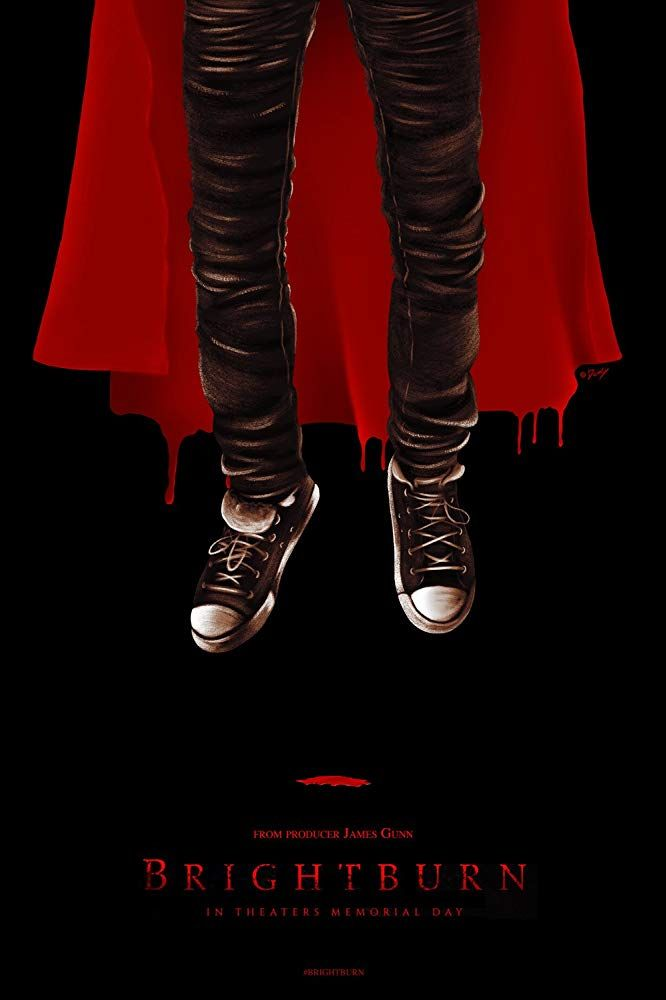 Image result for brightburn movie poster