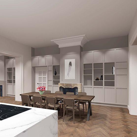 Interieurontwerp Villa te Almelo « Anne-Carien interieurarchitect
