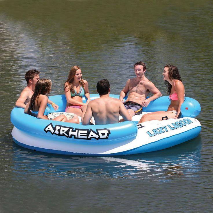 Universal Mania Inc. - Airhead LAZY LAGOON Inflatable Island, $151.64 (http://www.universalmania.com/airhead-lazy-lagoon-inflatable-island/)