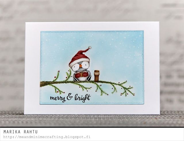 Merry and Bright with Purple Onion Designs