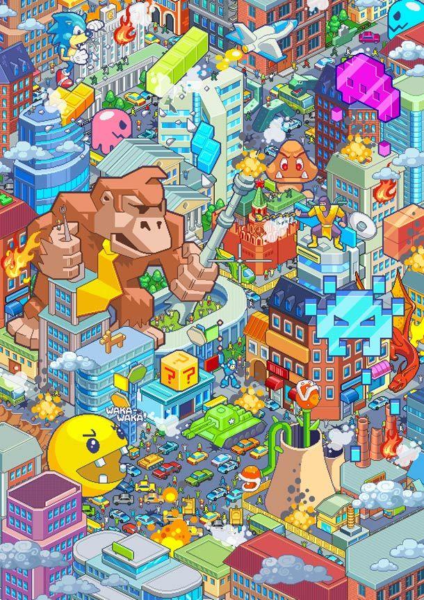 Pixel Art Apocalypse – par Raynoa