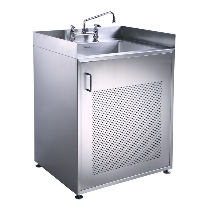 Best Pearlhaus Single Door Stainless Steel Sink With Cabinet 400 x 300