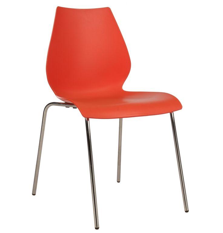 Replica Vico Magistretti Maui Chair by Vico Magistretti - Matt Blatt - Red $59