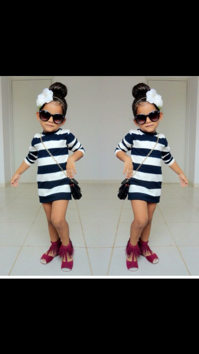 cool kid fashion Adorable little girls fashion