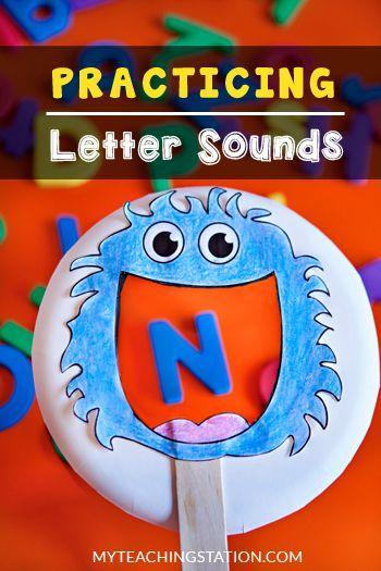 Beginning Sound Kindergarten Activity: Kids fun activity for learning the alphabet letter sounds.