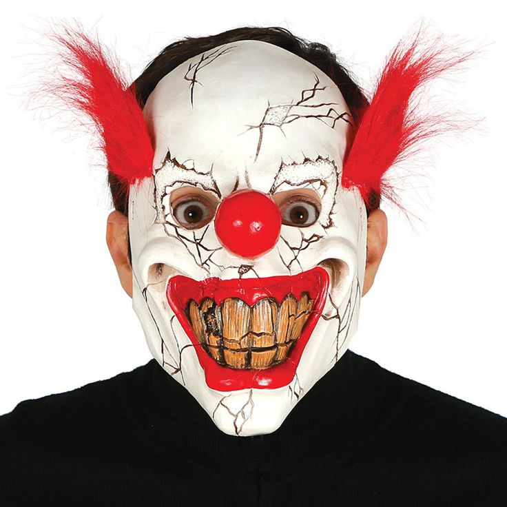 Máscara Payaso Asesino #máscaras #antifaces