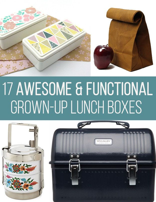 17 Gorgeous Lunch Boxes For Grown-Ups