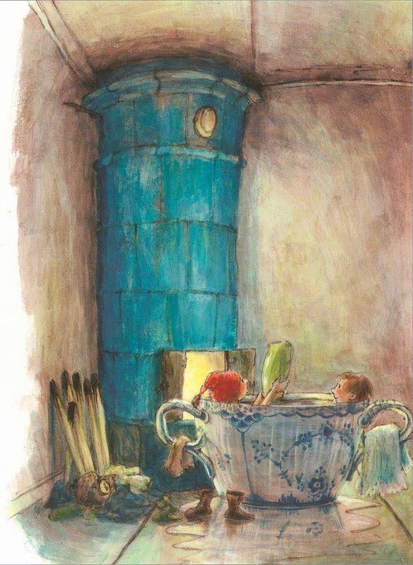 Marit Törnqvist's illustration of Astrid Lindgren's stories