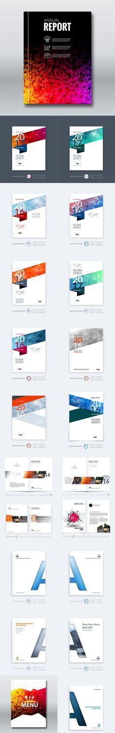 The 25+ best Annual report sample ideas on Pinterest Brochure - annual report template word