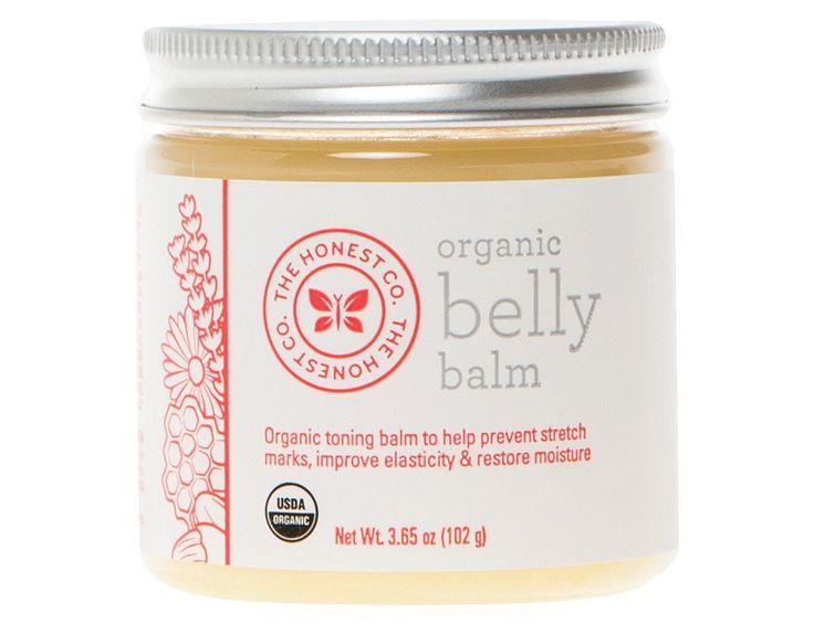 Honest Organic Belly Balm - 3.65 oz