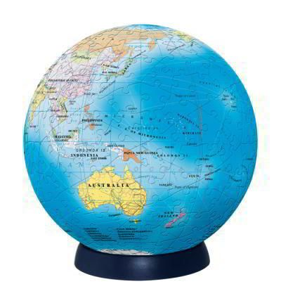 3D Globe Puzzel - White Apple Gifts