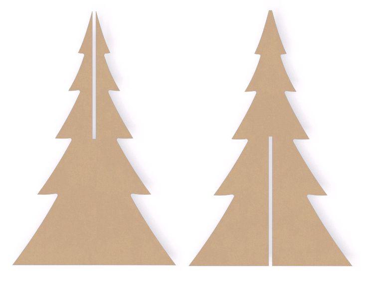 templates for wood cutouts - best 25 cardboard christmas tree ideas on pinterest