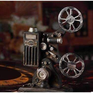 Vintage Retro Antique Movie Player Film Projector #vintageornaments