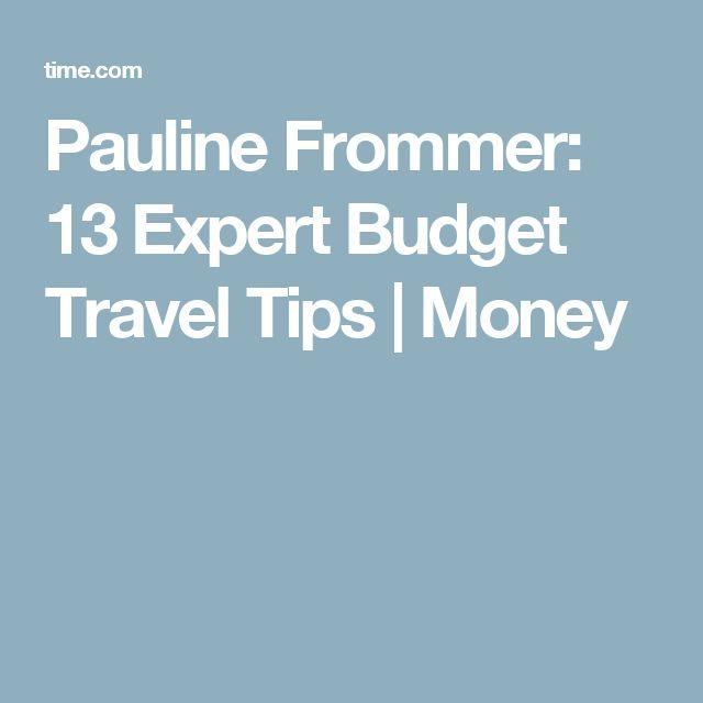Pauline Frommer: 13 Expert Budget Travel Tips | Money