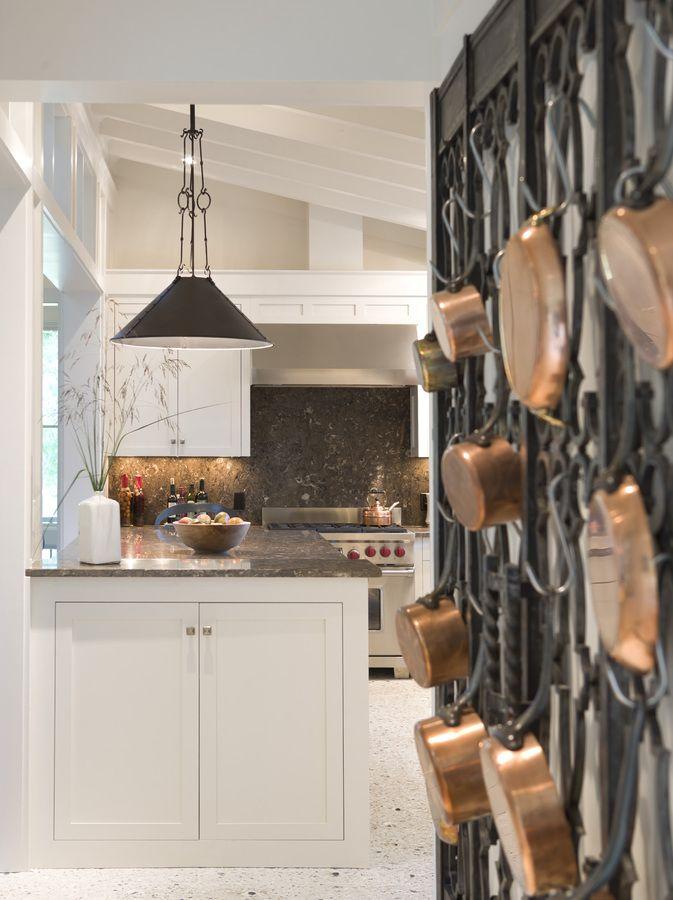 141 Best Pot Racks Images On Pinterest  Kitchens Dream Kitchens Fair Kitchen Pot Rack Review