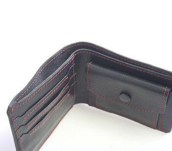 #peněženka #pánové Luxusní černá pánská peněženka Kabea z té nejkvalitnější hovězí italské kůže. Dopřejte sobě nebo někomu blízkému luxusní dárek české výroby s jeho vyraženými iniciály! Peněženka je prošita silonovou nití, hrany peněženky nejsou nijak barevně upravovány pouze hlazeny voskem.