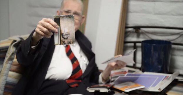 Bushman má fotky mimozemšťanů