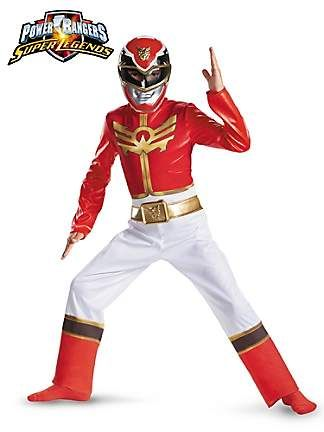 Power Ranger Costume from the Catch My Party Store! #costume #powerranger