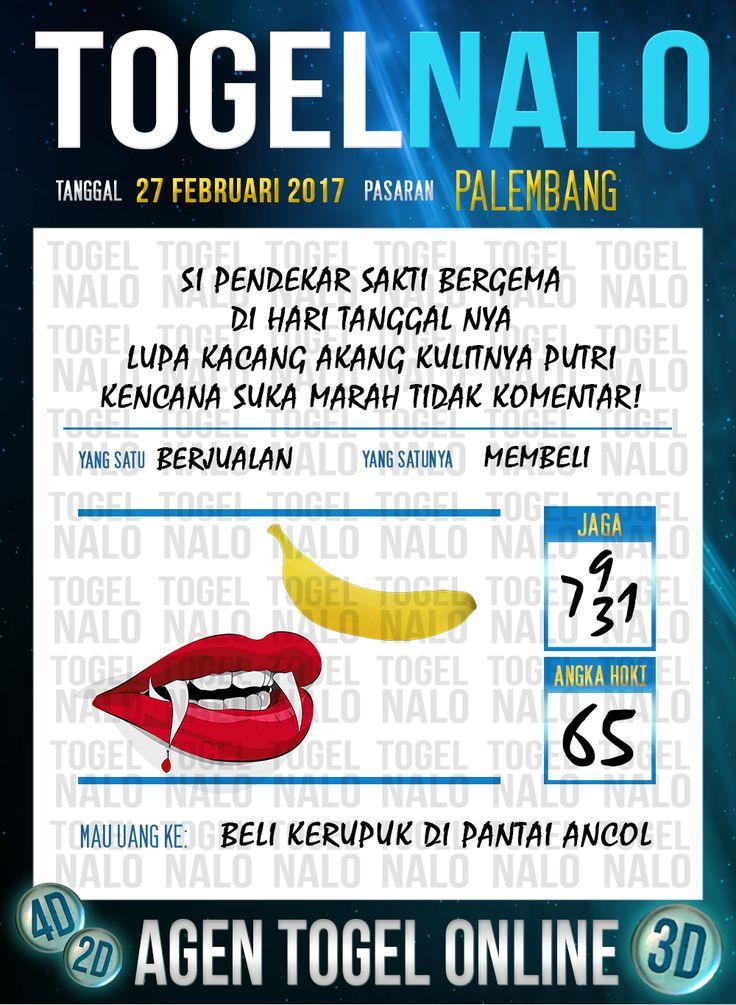 Lotre Taysen 4D Togel Wap Online Live Draw 4D TogelNalo Palembang 27 Februari 2017