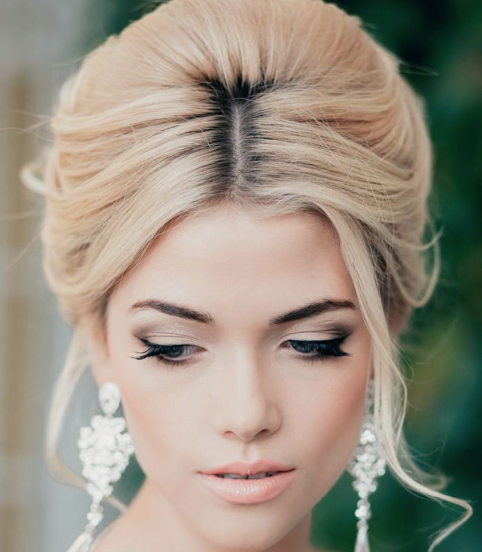 retro wedding hair inspiration
