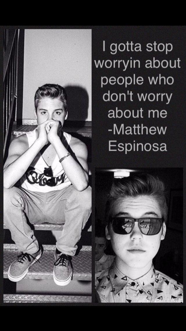 Matthew Espinosa quotes. Magcon boys Matt Espinosa