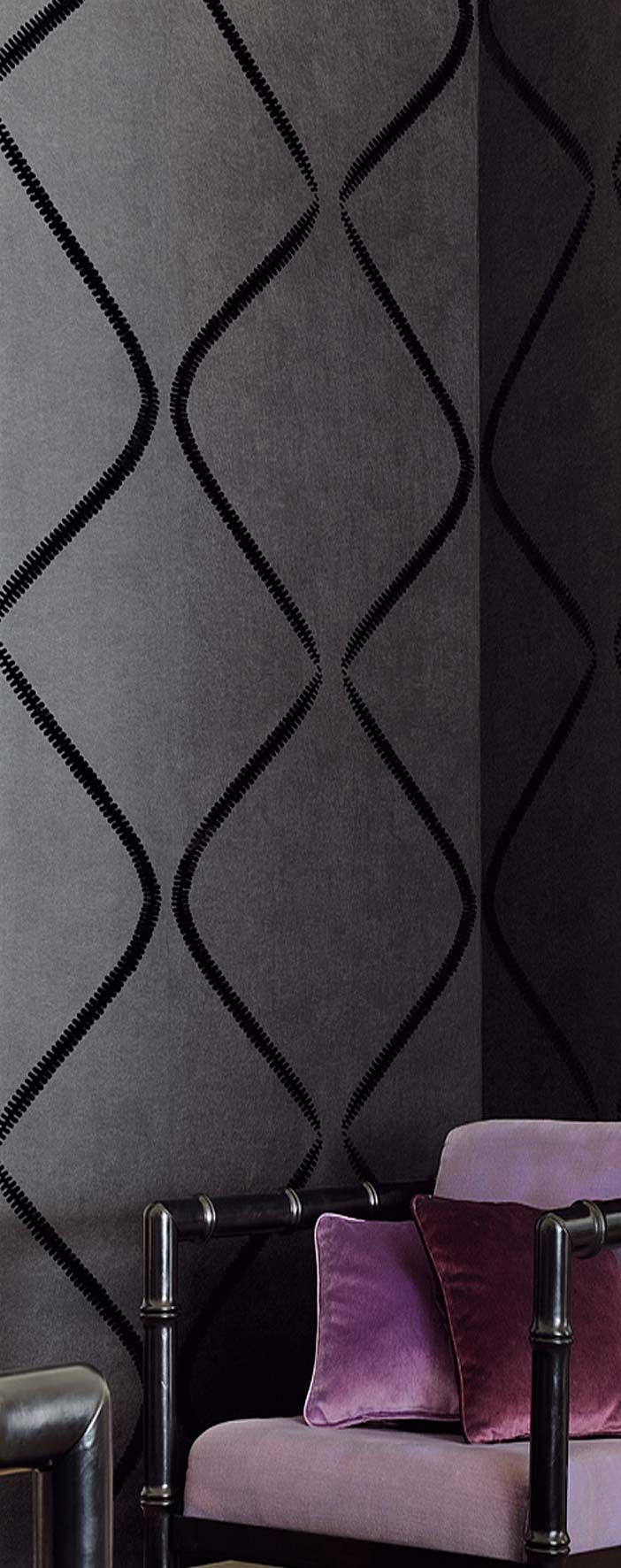 ellitis suede effect wallpaper - available from wallpaper uk