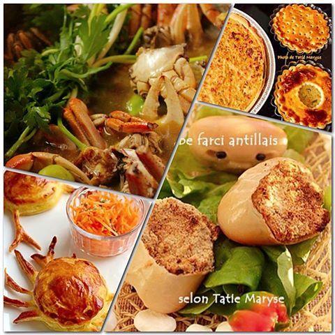 """""""Bon Dimanche de Pâques !!!  Toutes mes recettes à base de CRABE sont juste ici ==> http://www.tatiemaryse.com/?s=crabe"""""""